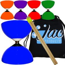 Juggle Dream Carousel Bearing Diabolo with Wooden Hand Sticks Package